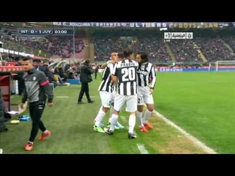 Calcio Serie A : Inter Milan 0-1 Juventus : 3' Fabio Quagliarella