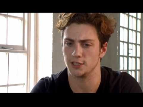 Interview with Aaron Johnson for Nowhere Boy