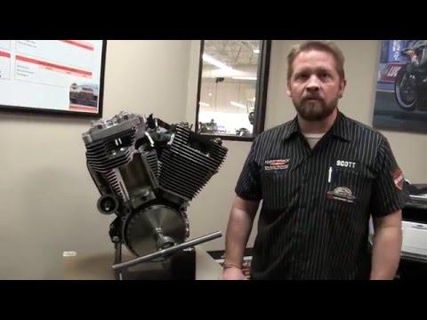 How a Harley-Davidson Big V-Twin Engine Works - Harley Davidson 103 Engine Cutaway View and Demo