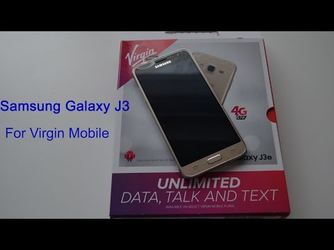 Samsung Galaxy J3 for Virgin Mobile - Unboxing and Overview