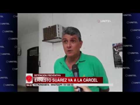 Ernesto Suárez manifestó su deseo de defenderse en libertad antes de la audiencia cautelar