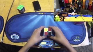 2x2 Cube Former WORLD RECORDS - 0.58 Single & 1.55 Average! - Rami Sbahi