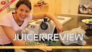NC800 OMEGA JUICER REVIEW ◦ Benefits, Facts, Information & Experience from LIVET.tv