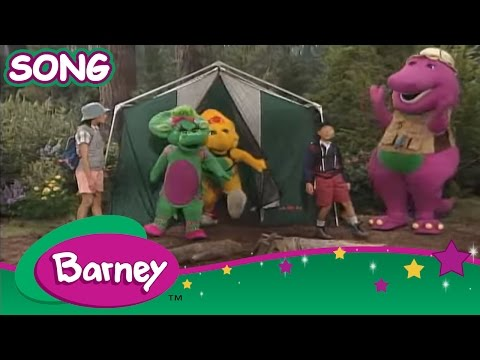 Barney: A Camping We Will Go