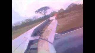 Video First flight to Armenia ,Colombia A 319