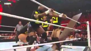 WWE Randy Orton vs John Cena with the Nexus ( read description)