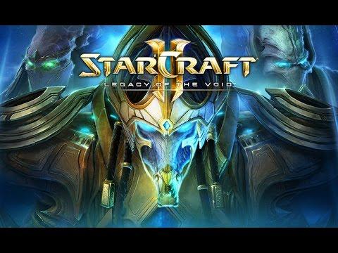 """Фильм """"Starcraft 2: Legacy of the Void"""" (полный игрофильм, весь сюжет) [1080p]"""