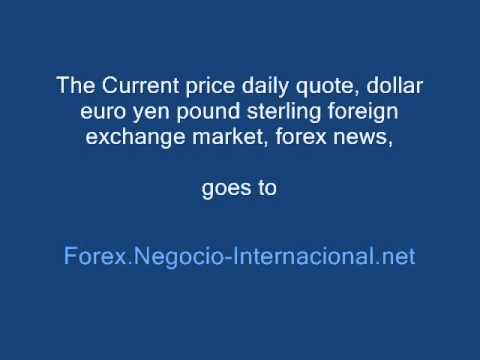Current price rate today, Dollar Euro Yen Forex Quote Today