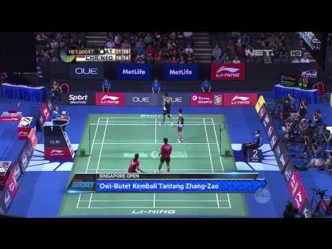NET Sport - Indonesia Loloskan 4 Wakil di Semifinal Singapore Open 2015