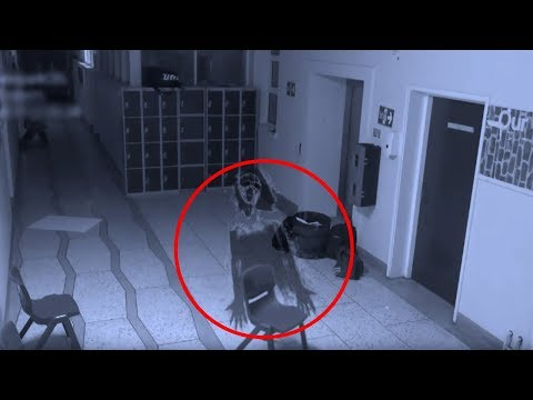 Real Ghost Caught On Tape At World's Most Haunted School - Poltergeist