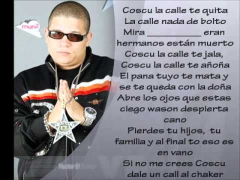 Entre el bien y el mal Hector el father Ft Cosculluela (Letra en el video)