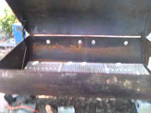 How to build a utility trailer/Pig Cooker