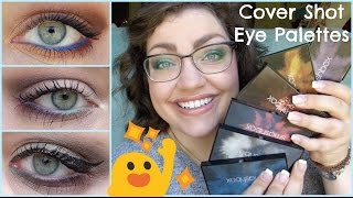 smashbox Cover Shot Eye Shadow Palettes | Review, Swatches, & Tutorials!