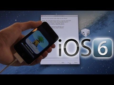 Jailbreak iOS 6, 6.0.1 Beta iPhone 4,3Gs,iPod Touch 4