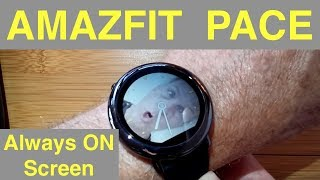 AMAZFIT PACE Fitness Smartwatch: How To Add Custom Watch Faces