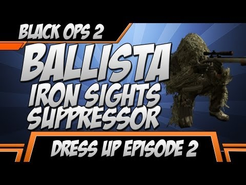 Dress Up: FerZe Pernster - Ballista Iron Sights & Suppressor (Black Ops 2 Gameplay)