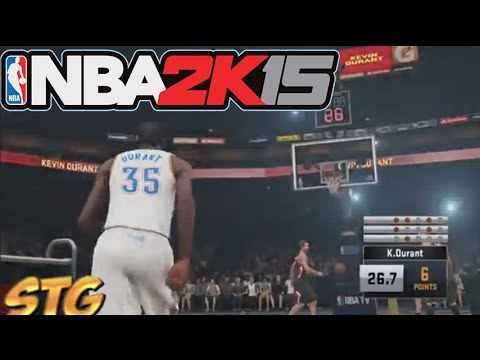 NBA 2k15 PS4 All Star Weekend 3 Point Contest! Ft. Kevin Durant, Damian Lillard, and a Surprise!