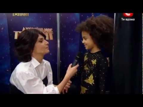 """Україна має талант-4"" - Эмили Москаленко (гимнастка)"
