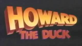 Howard The Duck Short Theatrical Trailer [1986]
