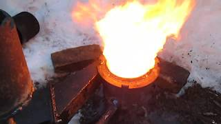 burner on waste oil 3