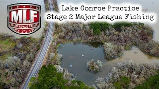 Major League Fishing Pro Tour Lake Conroe Texas Practice