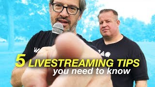 5 Live Streaming Tips: How to Get More Views on YouTube Live