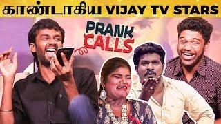 KPY Dheena's Live Prank Call with Nisha & Thangadurai - Laughter Guaranteed!