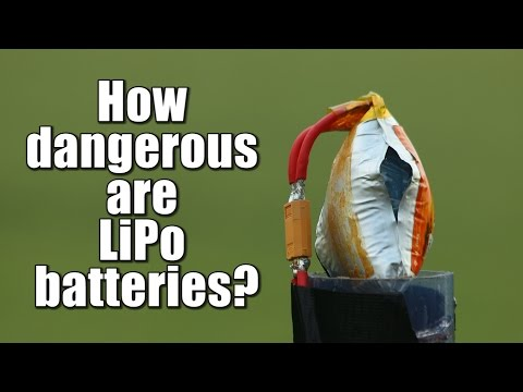 How dangerous are LiPo batteries?    Overcharge. Overdischarge. Short Circuit