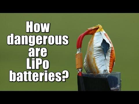 How dangerous are LiPo batteries?    Overcharge, Overdischarge, Short Circuit