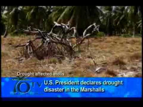 U.S. President declares drought disaster in the Marshalls
