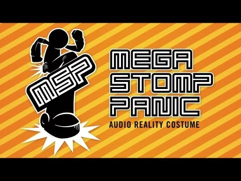 Mega Stomp Panic - Audio Reality Costume from ThinkGeek