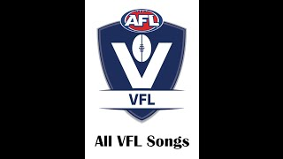 All VFL club songs 2016