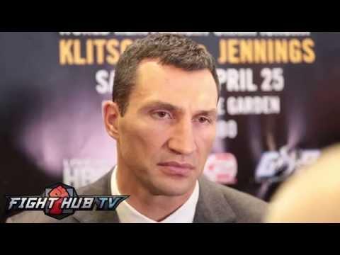 Wladimir Klitschko on fatherhood, Hayden Panettiere, Bryant Jennings & Ukraine struggle