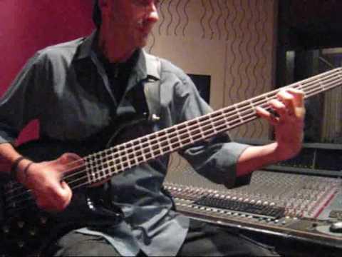 Famous Bass Player Fabio Meridiani play