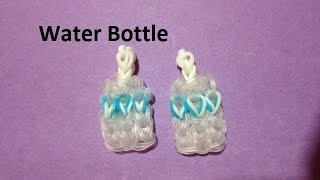 How to Make a Water Bottle Charm on the Rainbow Loom - Original Design