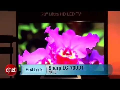 Sharp LC-70UD1 4K TV - First Look