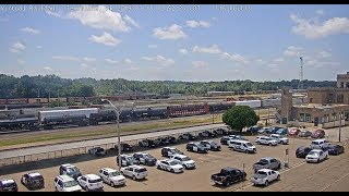Texarkana, Arkansas USA - Virtual Railfan LIVE