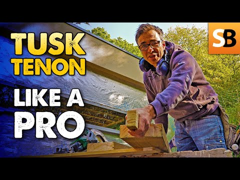 Create a Tusk Tenon & Mortise Joint Like a Pro