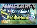 "Minecraft 1.9 Snapshot: NEW MOBS, WORLDS & STRUCTURES! ""PREDICTIONS"