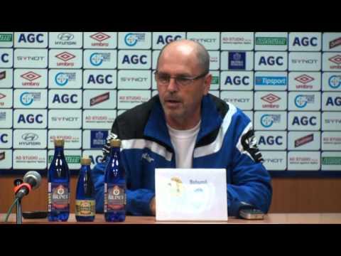 Tisková konference hostujícího týmu po zápase se Zlínem (16.4.2016)