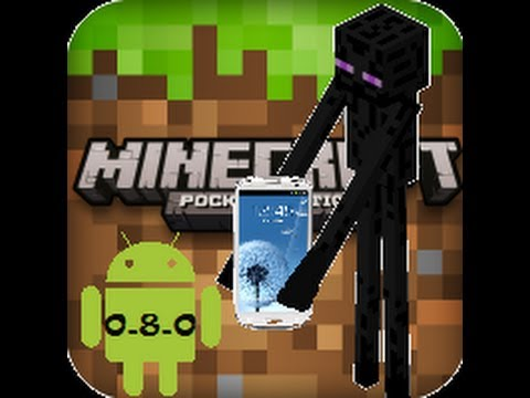 descargar minecraft 0 8 0 pocket edition para android link de descarga
