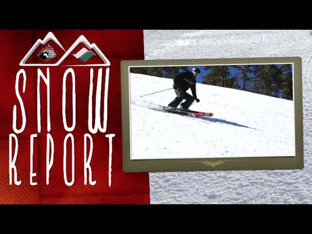 Big Bear Mountain Resorts Snow Report filmed on March 21st 2014