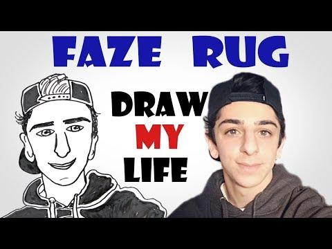 Draw My Life : FaZe Rug