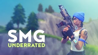 SMG UNDERRATED? NEW META! (Fortnite Battle Royale)