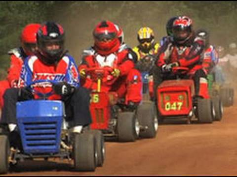 Kicking Grass: Lawnmower Racing in America (Romeo Theater)