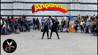 [KPOP IN PUBLIC - ITALY] BTS - ANPANMAN (Dance Cover) || DREQ CREW (Ari, Kitsune) • KPOP INVASION