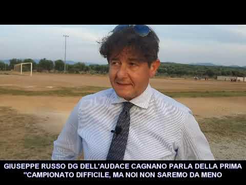 VIDEO: GIUSEPPE RUSSO DELL'AUDACE CAGNANO PARLA DELLA PRIMA CATEGORIA GIRONE A