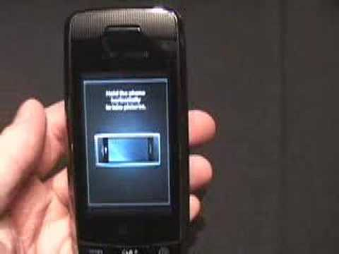 Video: LG VX10000 Voyager Preview