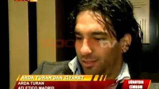 Arda Turan Madrid'de Galatasaray'ı yalnız bırakmadı