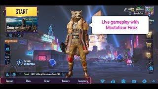 Pubg night live streaming on pocophone f1 with internal gamesound